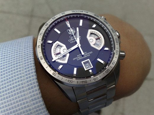 TAG Heuer Grand Carrera watch.