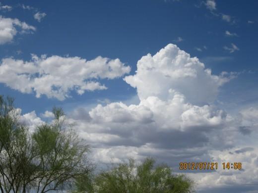 Early Summer Arizona Sky