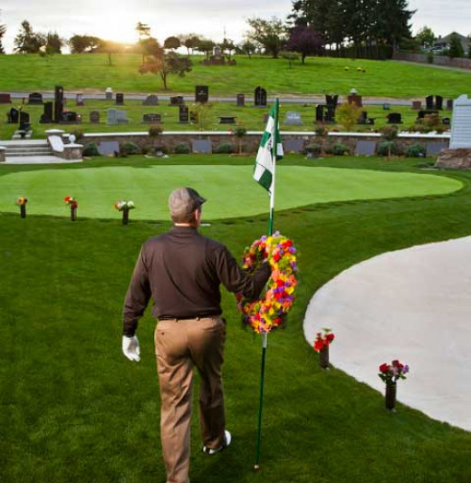 Golf courses may have to be used as graveyards in the event of an electromagnetic pulse.