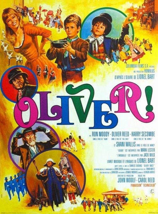Oliver! (1968) French poster