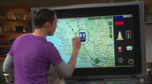 Sheldon and his Smart Board