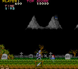 Sir Arthur Tackles Those Demons In Ghosts n Goblins