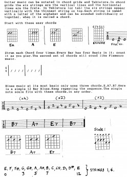 Guitar Lesson - Easy Blues