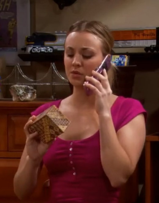 Penny and Sheldon's Japanese Puzzle Box