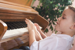 Your little one will discover a lifetime of relaxation, creativity & joy with a gently used piano!