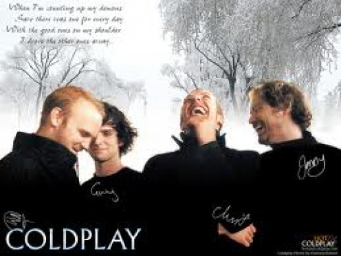 ColdPlay has had fast and hard beats as well as laid back softer tunes. They have performed at large stadiums in countries all over the world.