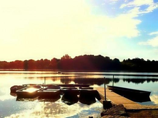 Sunrise in Muskoka, Ontario