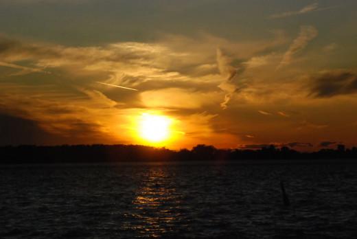 Sunset, Harbourfront Toronto