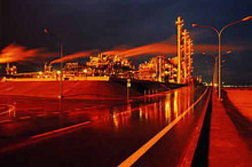 Oil Refinery in Kuwait