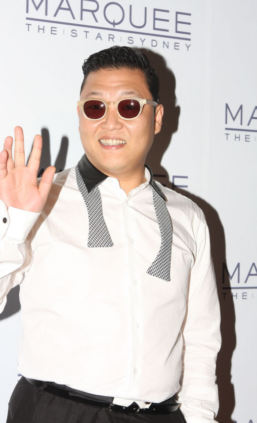 Psy at The Star in Sydney, Australia