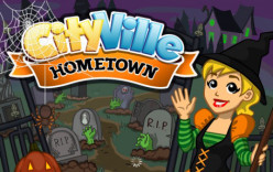 Visit CityVille Hometown as it gets a Haunted House Halloween Makeover!