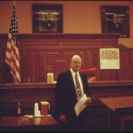 A Kansas County Courtroom