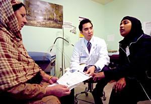 Medical Interpreter at work
