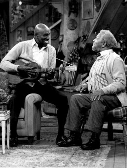 Guest spot on Sanford and Son