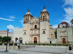 Iglesia de Santo Domingo, in Calle Alcalá. Oaxaca City, Mexico.