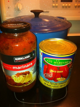 Use good quality San Marzano tomatoes if possible