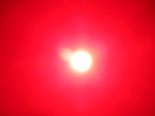 Due to a faster shutter speed I captured just this one orb clearly outlined against our Sun.