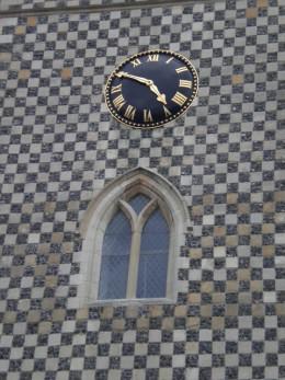 Clock on St Mary's Church, Reading