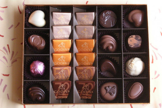 A gift of this chocolate assortment would be appreciated in many countries.