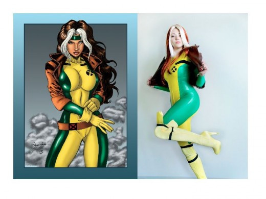 Rogue / Cosplay Model