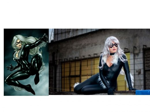 Black Cat / Cosplay Model