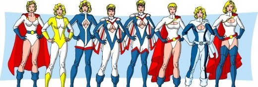 Power Girl Costume History