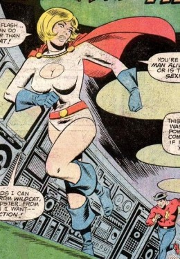 Original Power Girl Costume