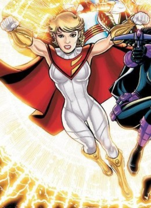 Power Girl New 52 Costume