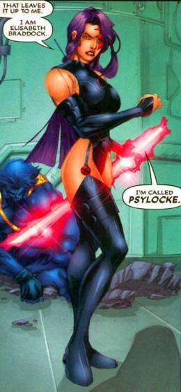 Psylocke X-Treme X-Men Costume