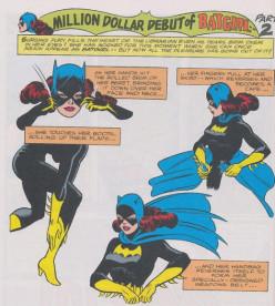 Batgirl Costume History