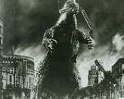 Rampaging monster was Godzilla's first major role
