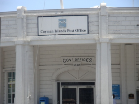 The Cayman Island Post Office. Image Is Property of ComfortB. Use image by permission only.