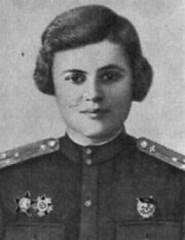 "WWII: Evgeniya Rudneva, navigator in the ""Night Witches"". KIA."