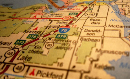 Know the route.  Keep your map hidden.  Walk with confidence - even if you're lost!