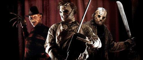 Freddy Krueger, Leatherface and Jason Voorhees