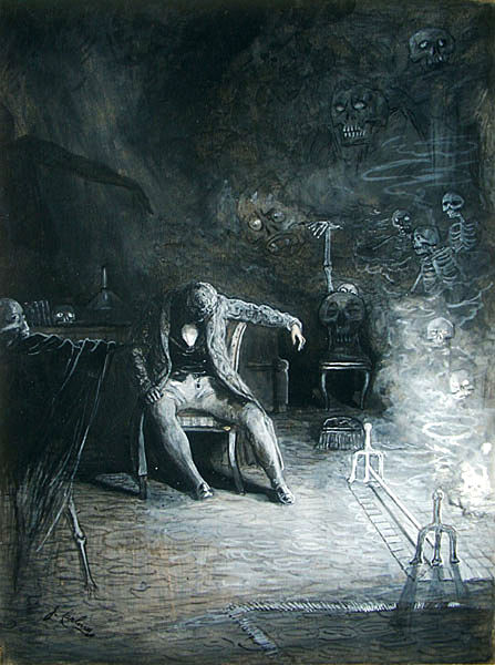 James Carling's Illustration for The Raven