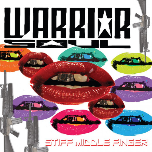 """Stiff Middle Finger"" album cover"