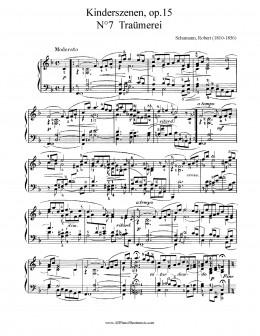 Score to Schumann's Traumerei