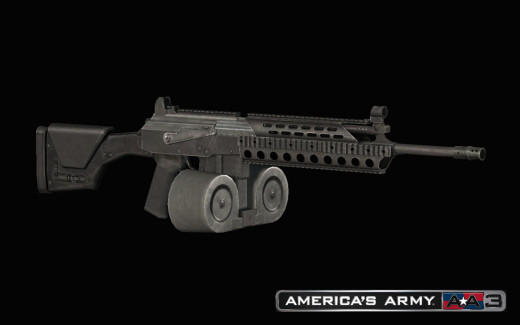 A gun from America's Army 3