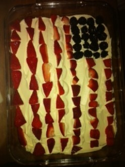 Easy American Flag Cake Kids will Love