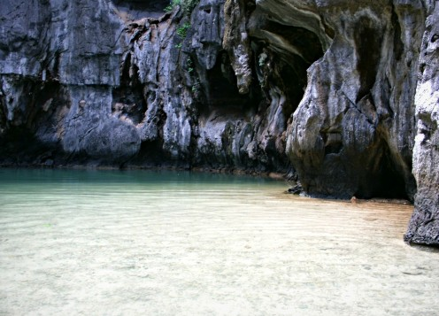 "The secret lagoon. A wonderful ""revelation"" it is! :-)"