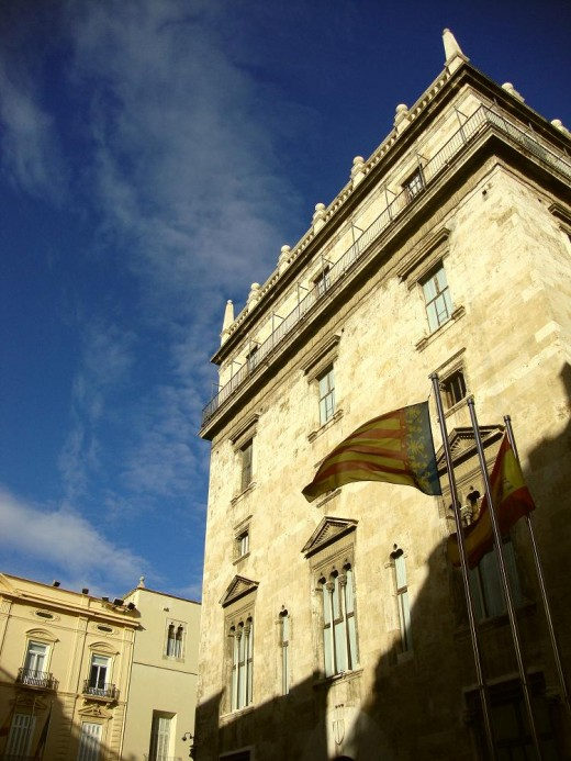 This is where the Presidency and the Government of Valencia holds its office.