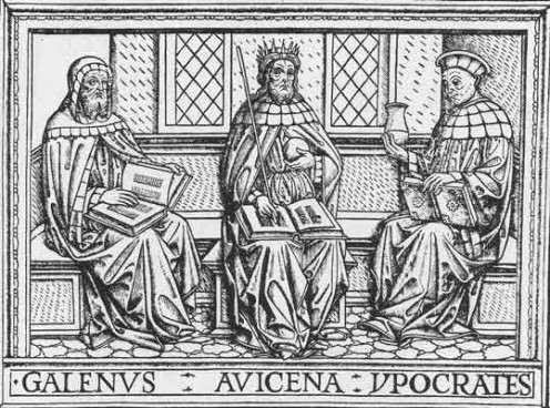 GALEN AVICENNA AND HIPPOCRATUS