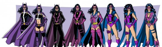 Huntress Costume History