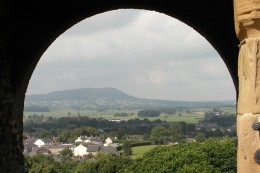 View from Clitheroe Castle
