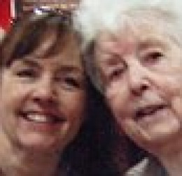 Carole Jones and her mother Maureen Rodd