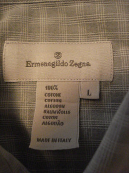 Zegna is a great men's Italian designer.  Remember the name.  I paid $2 for this gem and sold it for $20.