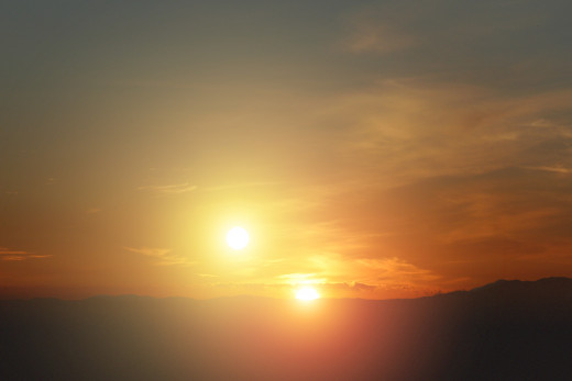Our solitary sunsets here on Earth might not be all that common in the grand scheme of things. Mature planetary systems are more  close-knit twin, or binary, stars than single stars like our sun. That means sunsets like the one portrayed in this art