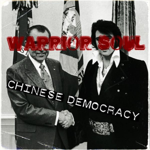 "2009's ""Chinese Democracy."" Axl Rose had no comment. :)"