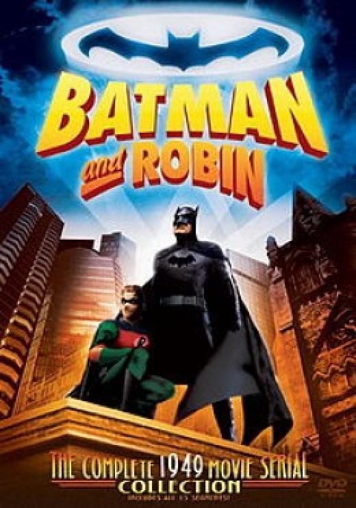 Batman and Robin 1949 Serial DVD Cover